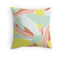 Leaf Two Throw Pillow