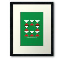 Design 255 Framed Print