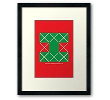 Design 254 Framed Print
