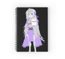 eucliwood hellscythe Spiral Notebook