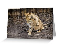 I Got Your Back, Bro! Greeting Card