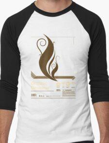 Graphic Designer Men's Baseball ¾ T-Shirt