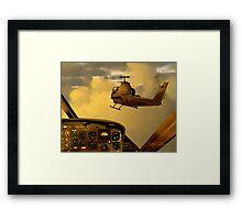 Palette of the Aviator Framed Print
