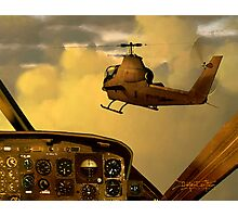 Palette of the Aviator Photographic Print