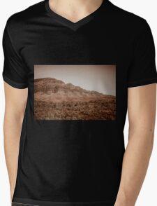 Old World Mens V-Neck T-Shirt