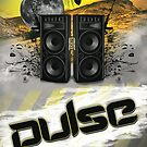 Pulse Flyer Artwork by Ron Swanson