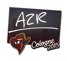 Renegades AZR Cologne 2015 Autogaph Sticker by BRPlatinum