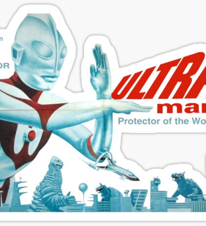 Ultraman (version 4) Sticker