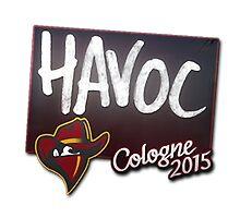 Renegades Havoc Cologne 2015 Autogaph Sticker by BRPlatinum