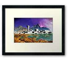 Down By The Seaside Framed Print