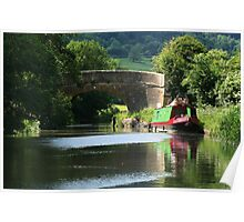 Bridge over the Kennet and Avon canal Poster