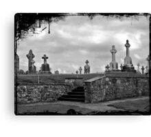 Irish cemetary Canvas Print