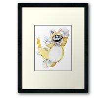 Mario Cat Framed Print