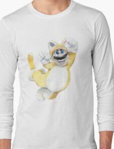 Mario Cat Long Sleeve T-Shirt