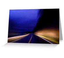 On the road II Greeting Card