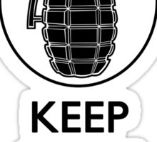 Keep Calm and Press RB Sticker