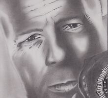 Bruce Willis by Paul van den Hoorn