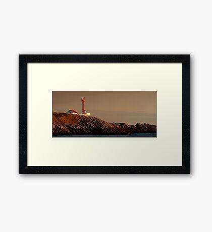 Yarmouth Light Framed Print