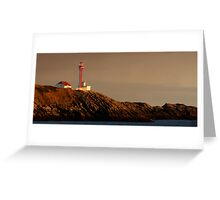 Yarmouth Light Greeting Card