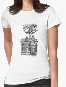 Up, Up and Away Womens Fitted T-Shirt