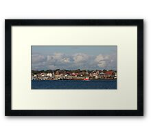 Yarmouth Waterfront Framed Print
