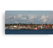 Yarmouth Waterfront Canvas Print