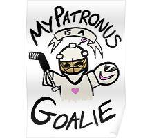 My Patronus is a Goalie Poster