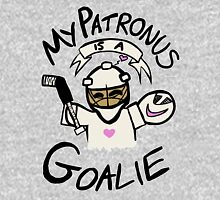 My Patronus is a Goalie Womens Fitted T-Shirt