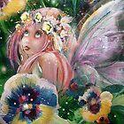 Pansy Patch by Robin Pushe'e