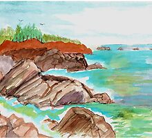 Oregon's Northwest Coast by Newhouser