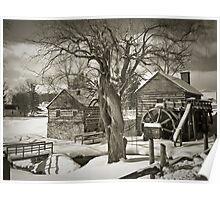 McCormick's Farm In Winter Poster