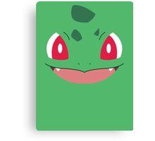 Pokemon - Bulbasaur / Fushigidane Canvas Print