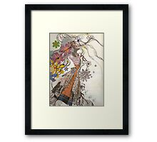 amazed Framed Print