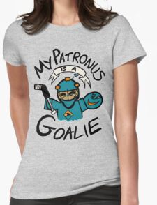 My Patronus is a Goalie (SJS Edition) Womens Fitted T-Shirt
