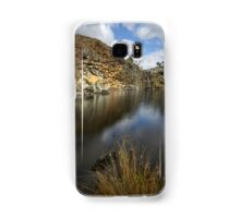 Reflection Of Feeling Blue Samsung Galaxy Case/Skin