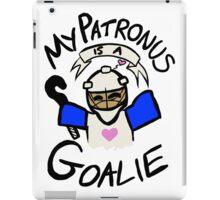 My Patronus is a Goalie (Field Hockey Edition) iPad Case/Skin