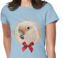 Goffin Tanimbar Corella Cockatoo Womens Fitted T-Shirt