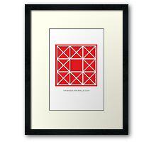 Design 83 Framed Print