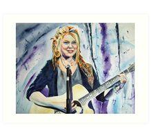 Crystal Bowersox Art Print