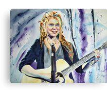Crystal Bowersox Canvas Print
