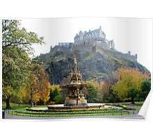 The Ross Fountain, Edinburgh Poster