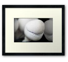 A Puffball*s smile Framed Print