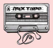 Mix Tape: Stuff To Dance To Kids Tee