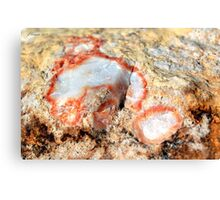 Quartz in Color Canvas Print