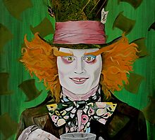 Mad Hatter by artmonqui