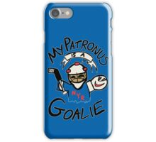 My Patronus is a Goalie (NYR Edition) iPhone Case/Skin