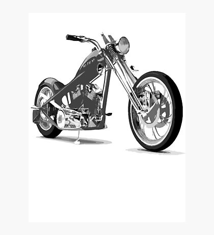 distorted chopper Photographic Print