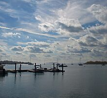 Beautiful  Day on the Water. by Lee d'Entremont