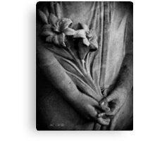 Stone Lillies Canvas Print
