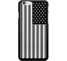 America in black and white iPhone Case/Skin